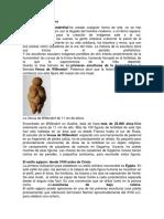 Historia de La Escultura, y más sobre arquitectura