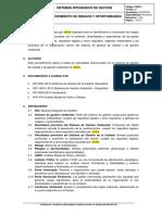 PSIG13 Proced de Riesgos y Oportunidades v1