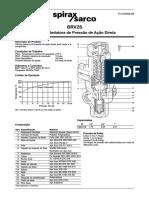 BRV2S Válvulas Redutoras de Pressão de Ação Direta-Technical Information