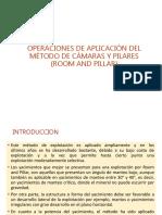 METODO de Camaras y Pilares 2018
