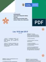 Ley 1610-2013