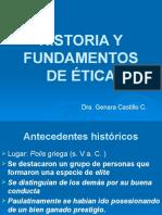 1. Historia y Fundamentos de Ética