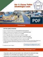 UNI - Julio - Sesion 1 - Introduccion a Lean - Valor Agregado-PDF