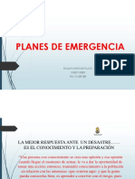 PLANES DE EMERGENCIA SISNEC