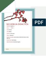 Secuencia de Polinomios. Estrada Maria.
