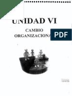17 - UNIDAD VI. Cambio Organizacional - Texto de Palací Descals, Francisco