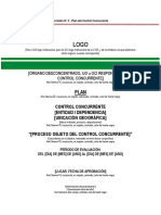 Formato 2-Plan de Control Concurrente
