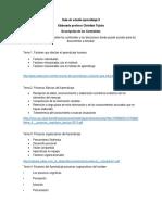 Guía de Examen Aprendizaje II