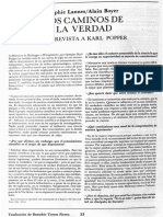 Los Caminos de La Verdad (Entrevista a Karl Popper)-Urevista universidad de mexico