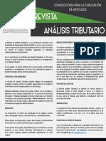 Convocatoria Revista - Requisitos AIT