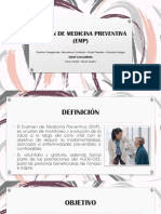 Examen Medicina Preventiva (EMP)