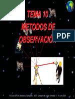 Métodos de Observación Gps