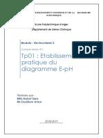 Tp1 Diagrammme E-ph