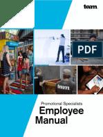 Part Time Employee Manual