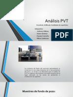 Análisis PVT