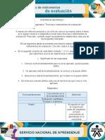 Actividad 1 Tecnicas e Instrumentos de Evaluacion
