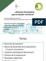 Ponencia Congreso Valdivia Dic 2016 Planificacion Participativa Para La Gestión Territorial