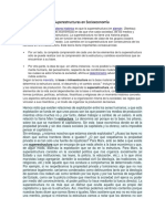 Las Estructuras y Las Superestructuras en Socioeconomia