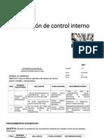 6 Control Interno y Riesgo