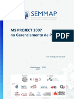 Apostila MS Project 2007 - SEMMAP