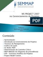 Gestão de Projetos - SEMMAP