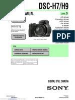 Camara Sony-DSC-H7 y H9.