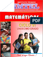 Cartilla Matematicas Ciclo VI - 15-Sep-2015