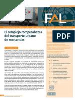 Transporte Urbano de Mercancías