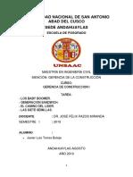 Trabajo Practico-gerencia de La Construccion-javier Luis Torres Buleje