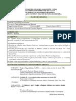 Plano de Disciplina Tópicos Emergentes Em História 2019.2