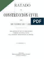 Ger Y Lobez Florencio - Tratado de Construccion Civil