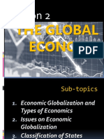 TCW W2 Lesson 2 the Global Economy