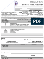 Template(Form 137)