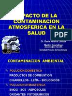 Clase 14 - Impacto de Contaminacion Atmosfósferica