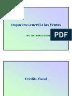 Ppt Auditoria Tributaria - El Crédito Fiscal
