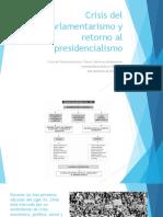 Historia de Chile parlamentaria