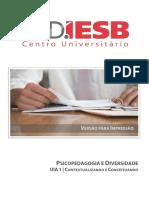 Iesb - Psicopedagogia e Diversidade