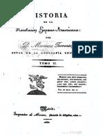 Historia de La Revolución Hispano Ameri