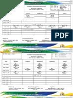 Individual Schedule 2019-2020 - F