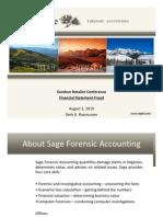 Financial Statement Fraud