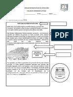 Identifica Las Partes de Una Noticia Taller Texto Informativo