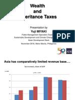 Wealth and Inheritance Tax