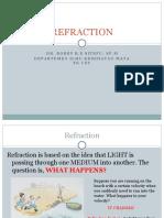 (K13) - Refraction