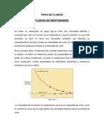 TIPOS DE FLUIDOS no newtonianos.docx