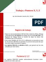Punteros X, Y, Z (Atmega16)