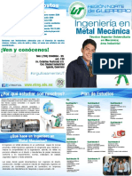 Plan de estudios metal mecanica