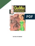 No Era Un Cobarde - M.L. Estefania - GunMan 030.docx