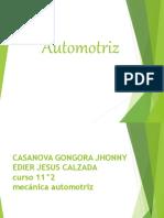 Automotriz diapositiva