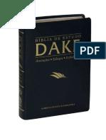 Bíblia de Estudo Dake - Daniel
