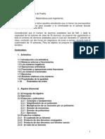 Curso propedéutico de Matemáticas para Ingenierías